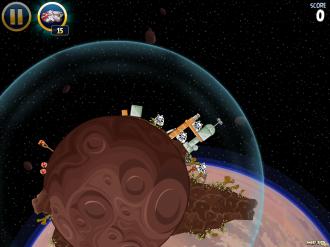 Уровень 1-26: полетели в Космос
