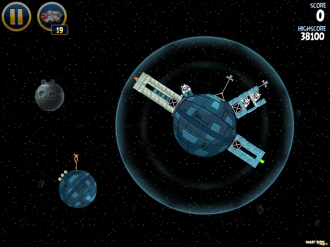 Angry Birds Star Wars: Урвоень 2-1