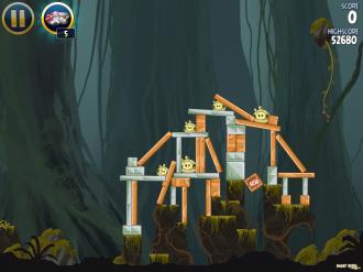 Angry Birds Star Wars: Уровень J-1