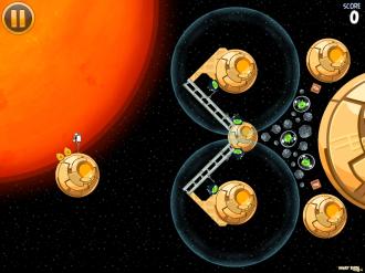 Angry Birds Star Wars: Уровень S-1