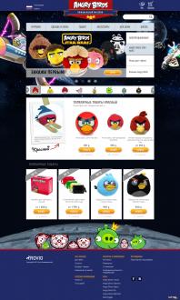 Официальный магазин AngryBirds.ru