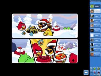 Зимний турнир: комикс