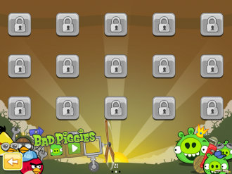 Angry Birds Original: Bad Piggies локация 2