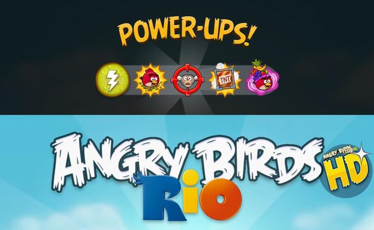 Обновилась Angry Birds Rio