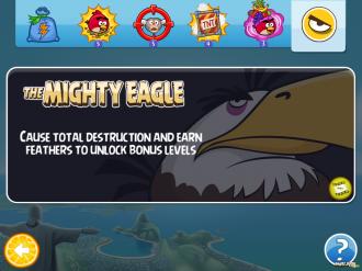 Angry Birds Rio: покупка Орла