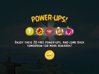 Angry Birds Rio: Анонс активаторов Power Ups
