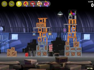 Angry Birds Rio: Звёздный уровень 1
