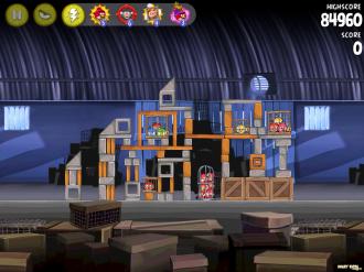 Angry Birds Rio: Звёздный уровень 3