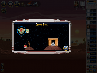 Angry Birds Star Wars Facebook: Clone Bird