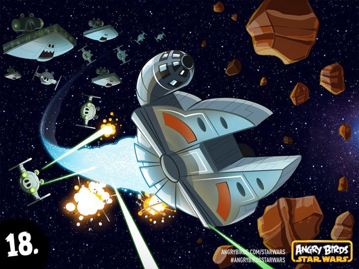 Комикс Angry Birds Star Wars - Часть 18