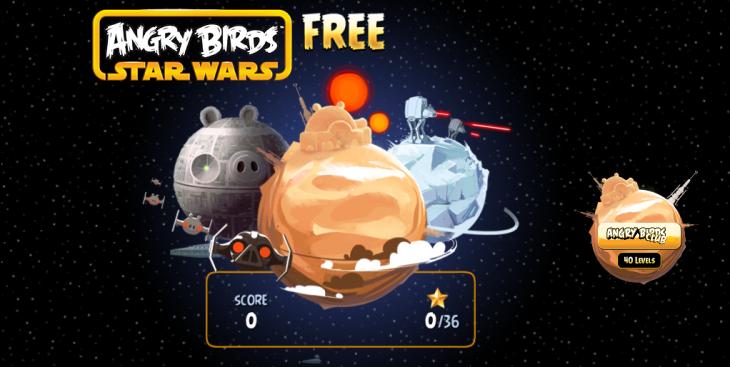 Вышла Angry Birds Star Wars Free на iOS