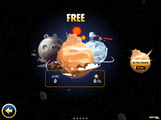 Angry Birds Star Wars Free: Выбор эпизода