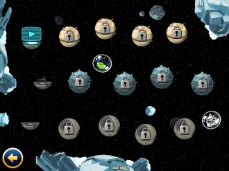 Angry Birds Star Wars Free: Выбор уровня