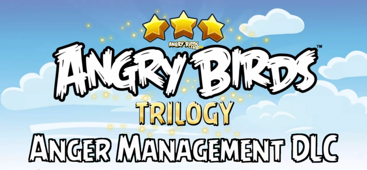 Появился Angry Birds Trilogy Anger Managment DLC