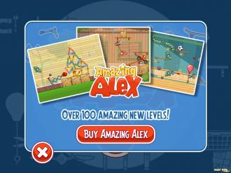 Amazing Alex Free: Предложение купить полную версию