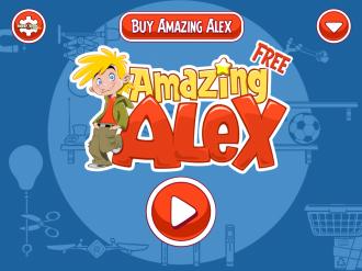 Amazing Alex Free: Меню