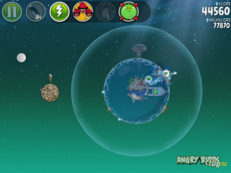 Angry Birds Space Pig Dipper - Разделение счёта