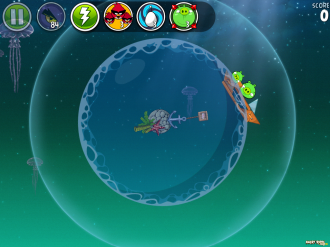 Angry Birds Space Pig Dipper - Уровень 6-1