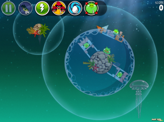 Angry Birds Space Pig Dipper - Уровень 6-3