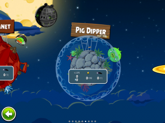 Angry Birds Space Pig Dipper - Выбор эпизода
