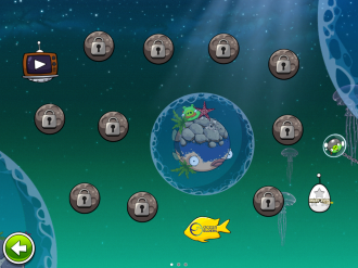 Angry Birds Space Pig Dipper - Выбор уровня