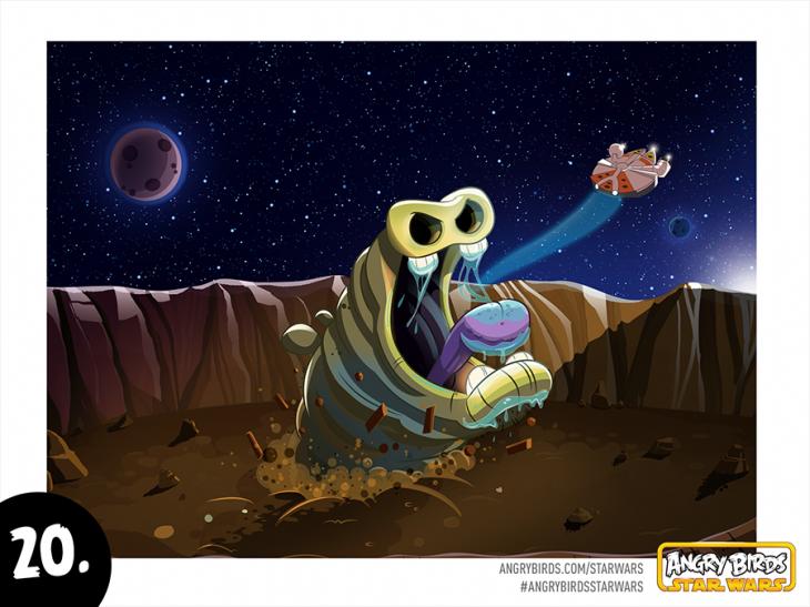 Комикс Angry Birds Star Wars - Часть 20