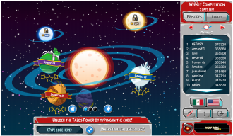 Angry Birds Tazos: Главное меню