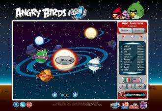 Angry Birds Tazos: Главный экран