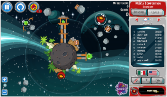Angry Birds Tazos: Уровень 1