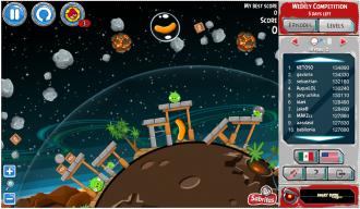 Angry Birds Tazos: Уровень 2