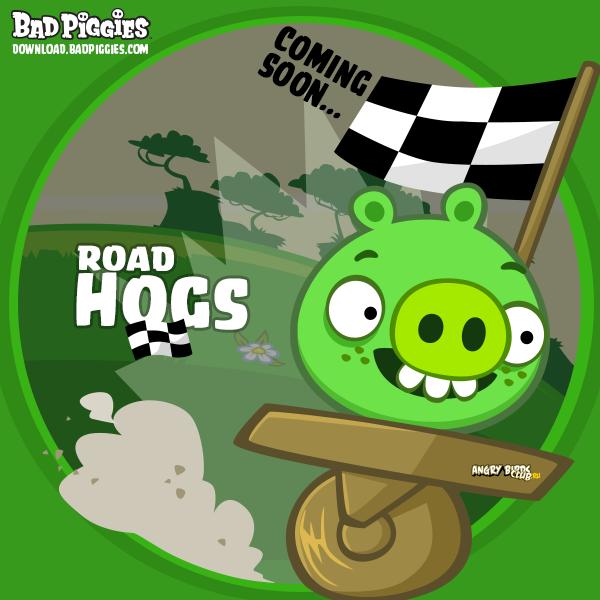 Bad Piggies Road Hogs в Facebook