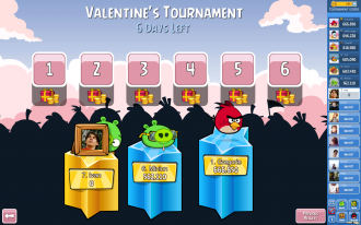Турнир к Валентину - Выбор уровней