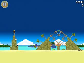 Angry Birds Free: Уровень 10-1