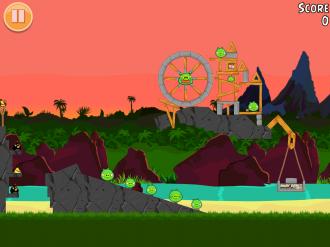 Angry Birds Free: Уровень 10-3