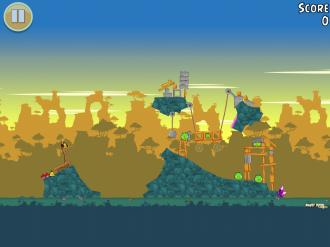 Angry Birds Free: Уровень 9-2