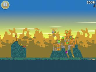 Angry Birds Free: Уровень 9-3