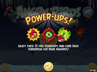 Появились активаторы Power-Ups