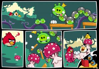 Angry Birds Friends: Pig Tales - финальный комикс