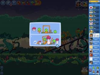 "Angry Birds Friends Pig Tales: Инструкция к ""Грибочкам"""