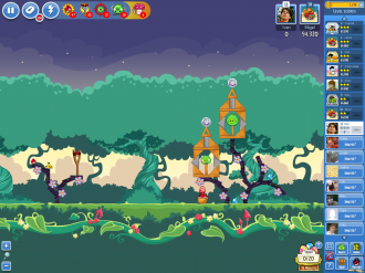 Angry Birds Friends Pig Tales: Уровень 1