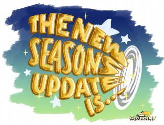 Эксклюзивная картинка к обновлению Сезонов для AngryBirdsNest.com