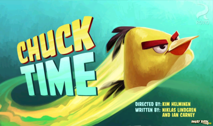 Angry Birds Toons Chuck Time Тизер