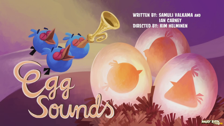 Тизер Angry Birds Toons Eggs Sounds