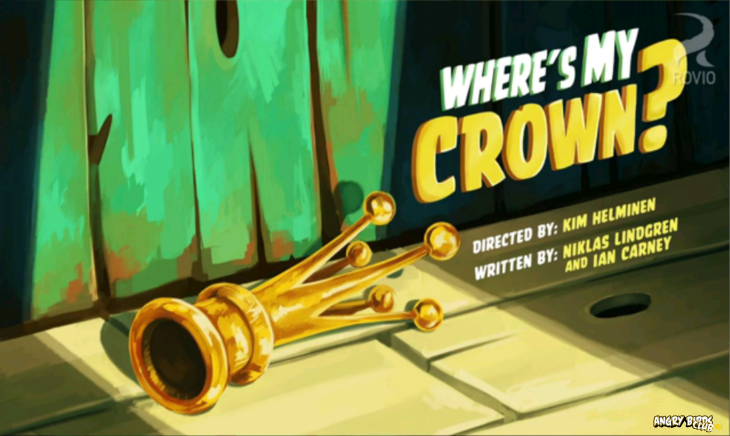 Angry Birds Toons Where Is My Crown Тизер