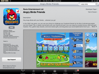 Angry Birds Friends Mobile в AppStore