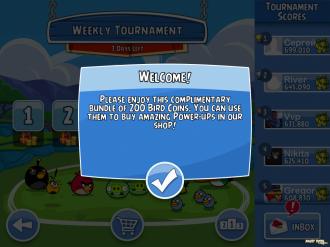 Angry Birds Friends Mobile: Подарочные 200 монет