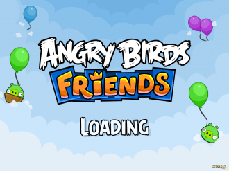 Angry Birds Friends Mobile: Загрузка