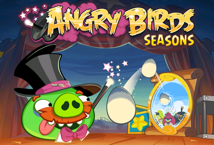 Angry Birds Seasons Abra-Ca-Bacon доступна!