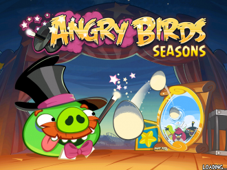 Angry Birds Seasons Abra-Ca-Bacon - Загрузка