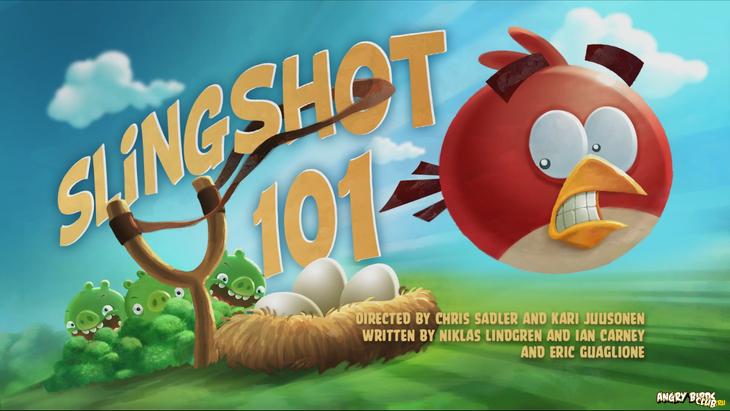 Тизер Angry Birds Toons Slingshot 101